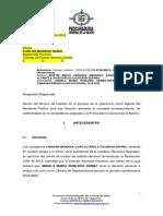 PROCURADURÍA SOLICITA NEGAR PRETENSIÓN DE NULIDAD DE CURUL DE LA REPRESENTANTE ÁNGELA MARÍA ROBLEDO.