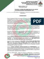 RESOLUCION N° 119-2019 JUEGOS SUPERATE 2019