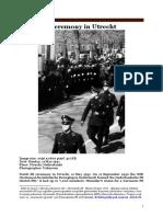 Dutch SS [Nederlandsche-SS] Ceremony in Utrecht, May 11 1941