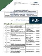 lista proiecte