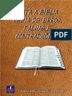 A Bíblia Cheia de Erros