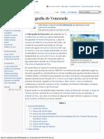 Hidrografía de Venezuela - Wikipedia, La Enciclopedia Libre
