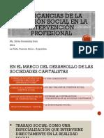 Implicancias de La Cuestión Social en La Intervención