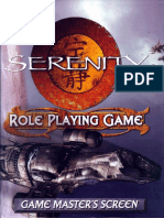 Firefly Game Master's Screen