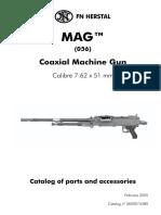 Coaxial Machine Gun MAG™ (056) Calibre 7.62 x 51 mm