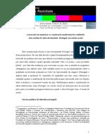 A Inscrição Da Memória e a Construção Audiovisual Da Realidade_Gabriela Borges