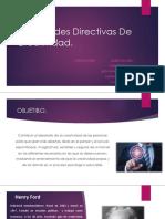 Habilidades Directivas de Creatividad Diapositivas Organizacion Empresarial
