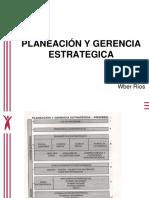 3. Planeación y Gerencia Estrategica