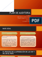 Plan de Auditoria Expo