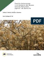 Catálogo de La Familia Asteraceae en El Herbario