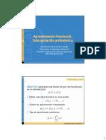 Aproximacion Funcional e Interpolacion Polinomica