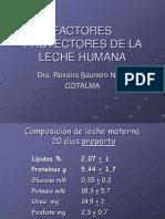 Factores Protectores de La Leche Humana