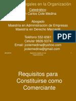 Requisitos para constituirse como comerciante Honduras