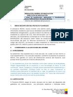 Comentarios Al Informe de Dir Innovacion-MAGAP Sobre El Proyecto BIONA