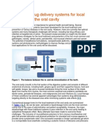 Advanced drug delivery systems for local treatment of the oral cavity.docx