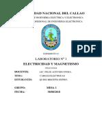 CARGAS ELECTRICAS