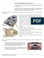 Usando o Pupilometro