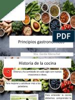 Principios gastronómicos
