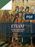 Zimmerl PVRiejk ETIAM, Revista Agustiniana de Pensamiento Volumen XII, Número 13 2018