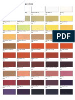 Vallejo Color Chart