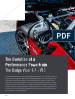 The Dodge Viper 8.4 l V10