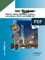 Elevator Brakes ENG