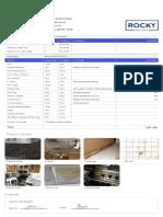 Standard Inspection Report Template