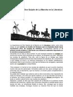 Importancia de Don Quijote de La Mancha en la Literatura.docx