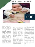 Santiago Mendoza Es El Bebé Más Obeso de Colombia