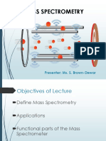 Lecture Mass Spec
