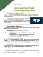Articuler Production Écrite Et Grammaire