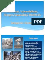 Amenazas, Vulnerabilidad, Riesgos, Capacidad y.pptx