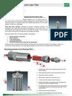Machine Nozzle Gap Filter MSF Opt