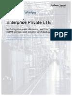SpiderCloud Private LTE