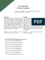 Informe Taller Flexible Grupo 1