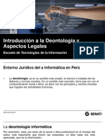 Deontologia de La Informatica