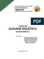 Sanador Holistico Curriculo 2015