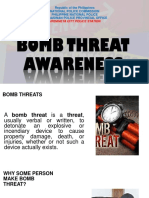 Bomb Threat Awareness Presentation