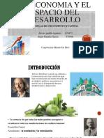 La Economia y El Espacio Del Desarrollo.pptx Exposicion