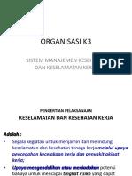 ORGANISASI K3