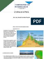 1. El Clima en El Perú