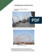 Fuentes de Contaminacion en La Ciudad de Trujillo