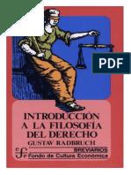 introducción filosofía del derecho