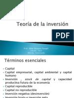 Teorc3ada de La Inversic3b3n