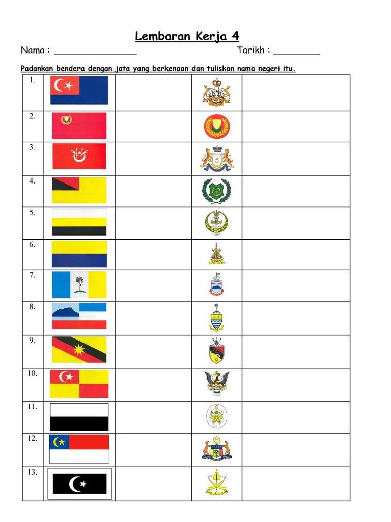 Bendera Negeri2 Di Malaysia