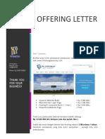 Offering Letter