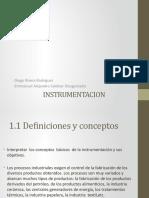 Instrumentacion y Sus Objetivos