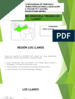 Región Los Llanos Walter Pasavento Fe y Alegría