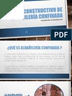 Sistema Constructivo de Albañileria Confinada