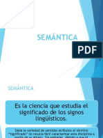 Descripción de semántica